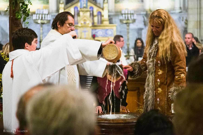 hotographie de Baptême basilique de Longpont