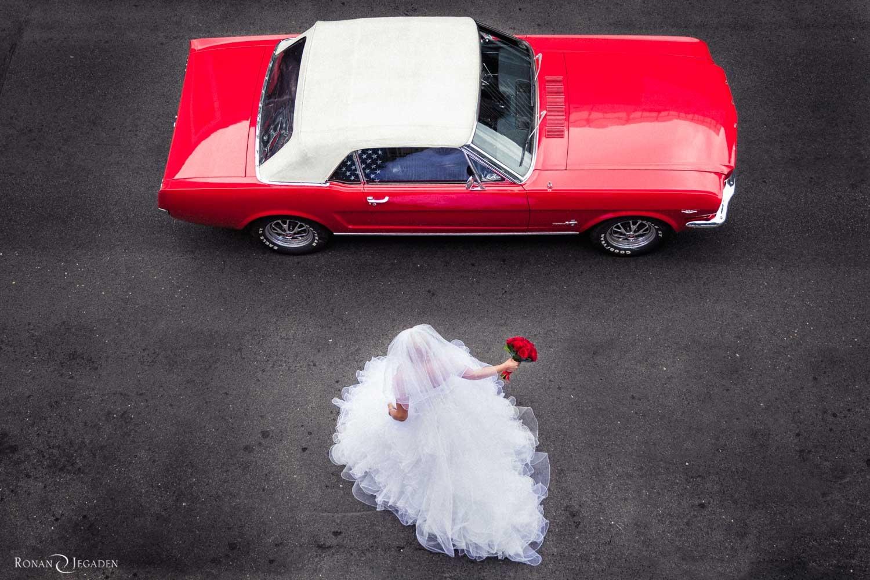 mariage voiture Paris France